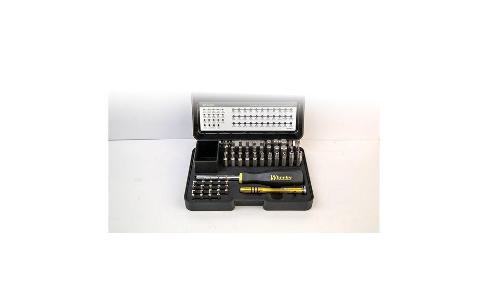 Wheeler 55 Piece SAE/Metric Hex and Torx Screwdriver Set