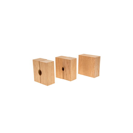 Set of 3 Replacement Oak Bushings