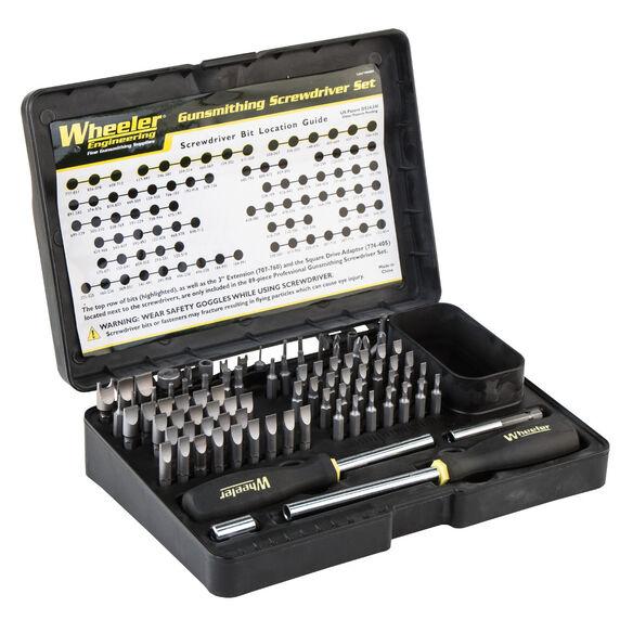 89 Piece Professional Gunsmithing Screwdriver Set