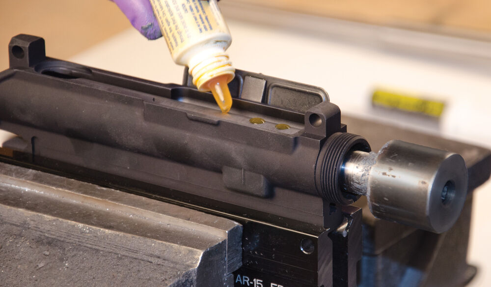 AR Receiver Lapping Tool
