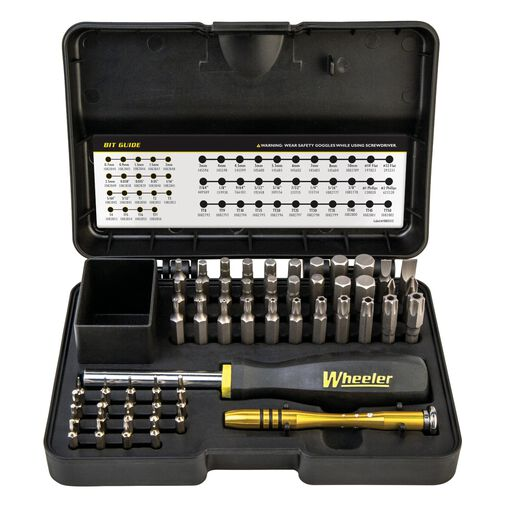 Wheeler 55 Piece SAE/Metric Hex and Torx Screwdriver Set