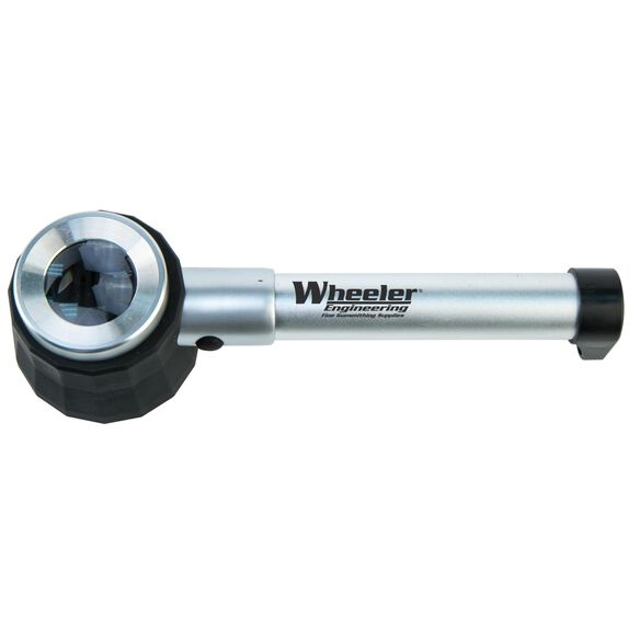 Wheeler Master Gunsmithing Handheld Magnifier with LED Light and Carry Case