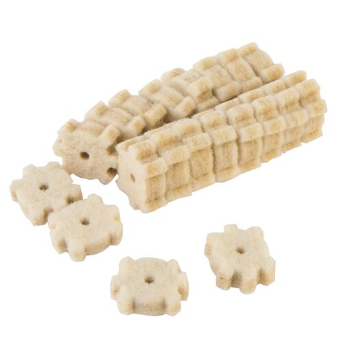 Wheeler Star Chamber 20 Pack Die Cut Threaded Cleaning Pads
