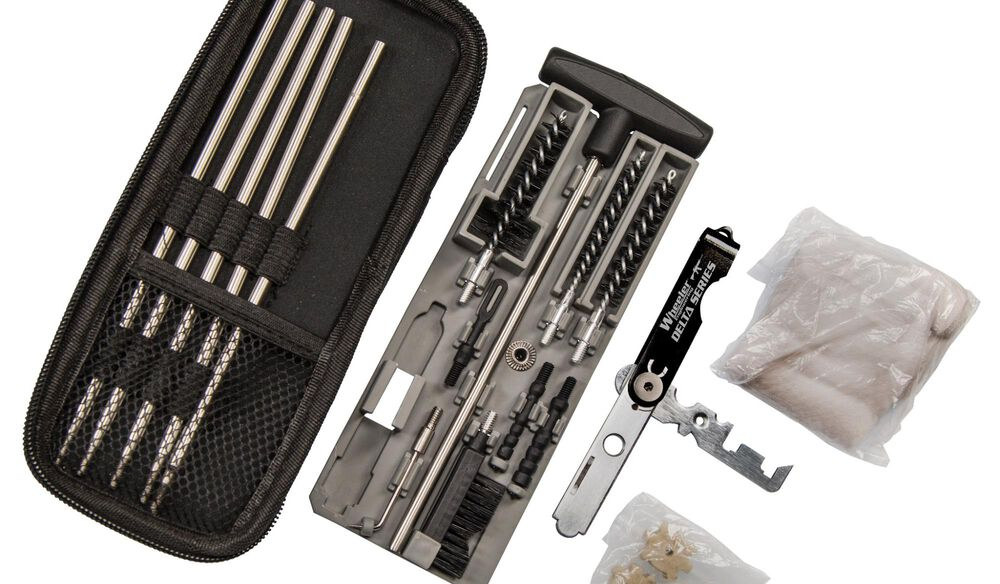 Wheeler Compact Tactical Rifle Cleaning Kit