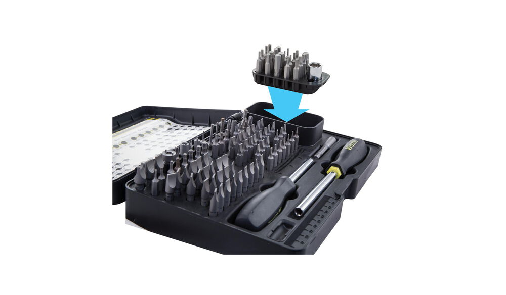 21 Piece Add-On Screwdriver Bit Set